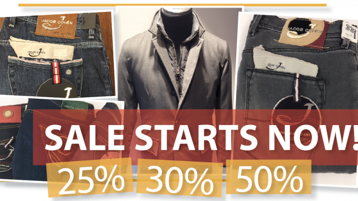 Sale starts now!