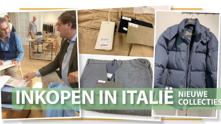 Nieuwe collecties inkopen in Italië